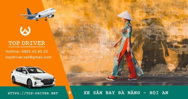 Xe sân bay Đà Nẵng đi Hội An